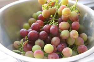 A Bowl Of Grapes